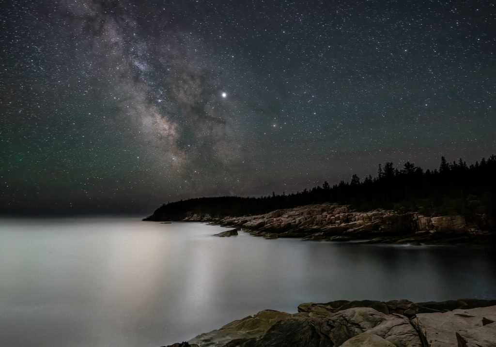 Night sky at Acadia