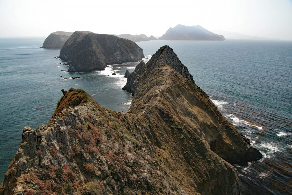 view of Anacapa Island
