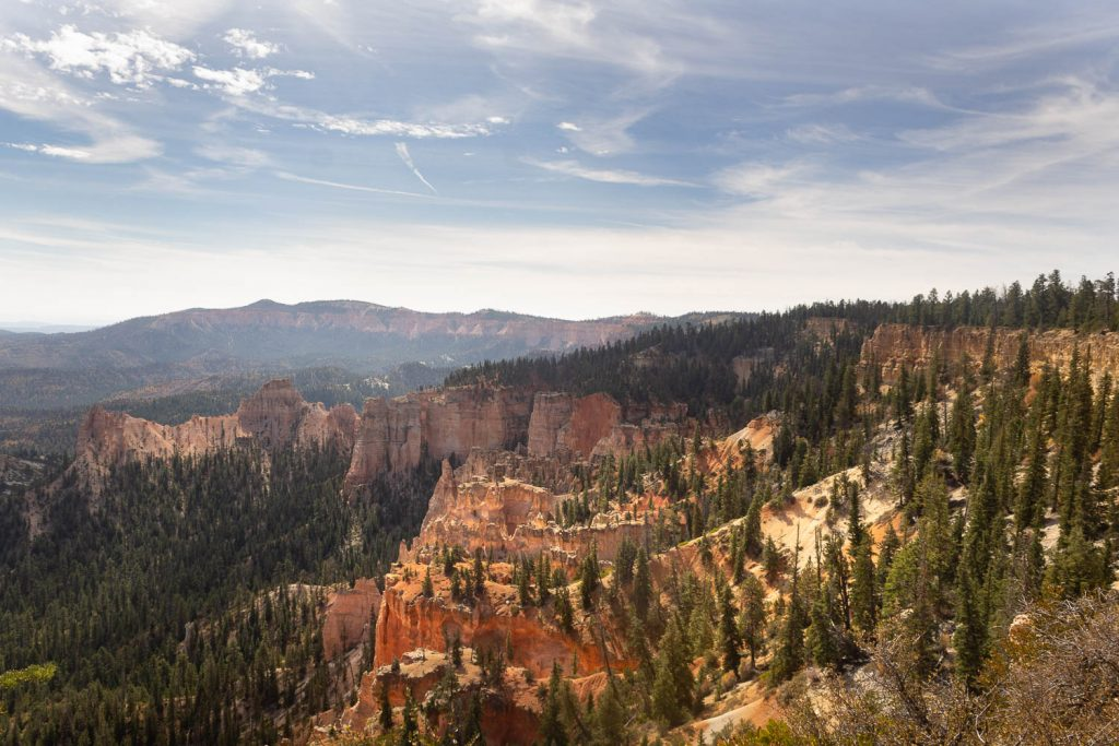 View from Piracy Point at Bryce Canyon National Park