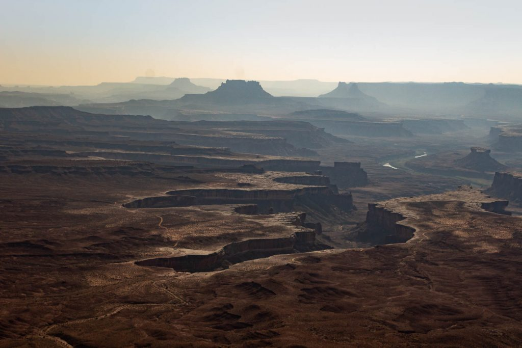 View from the Green River Overlook at Canyonlands National Park