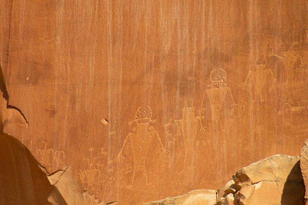 Petroglyphs at Capitol Reef National Park